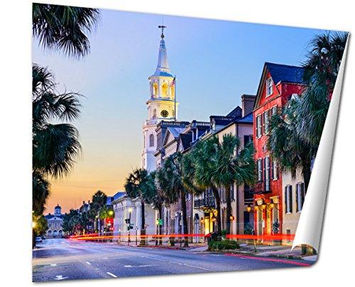 Ashley Giclee, Charleston South Carolinuscityscape Historic French Quarter, 24x30 - Charleston French Quarter