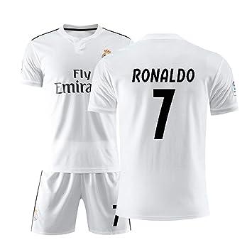 FNBA Real Madrid Club de Fútbol #7 Cristiano Ronaldo Camiseta y ...
