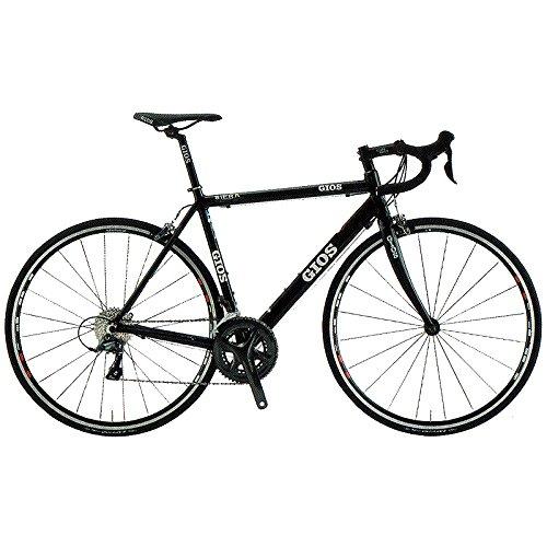 GIOS(ジオス) ロードバイク SIERA BLACK 520mm B076BP99LW