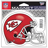 "Kansas City Chiefs Official NFL 4.5""x6"" Car Magnet by Wincraft"