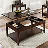 Steve Silver Company Crestline Lift-Top w/Casters Cocktail Table