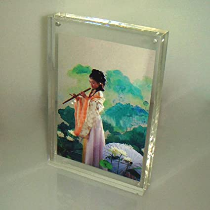 Amazoncom 10unitslots 5x7 Acrylic Magnetic Photo Frames