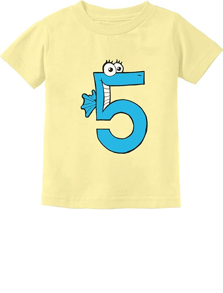 d7a6e6957 TeeStars - Five Years Old Boy Birthday Gift - I'm 5 Toddler/Infant Kids T- Shirt: Amazon.ca: Clothing & Accessories