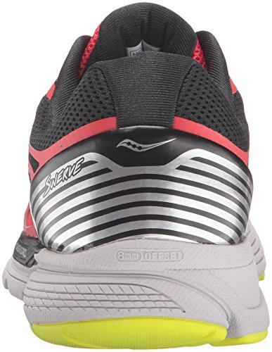 Saucony Swerve Mens (8 USA - 41 EUR) (Red/Black/citron)