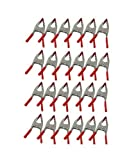 24 pc. 6'' Heavy Duty Metal Spring Clamps