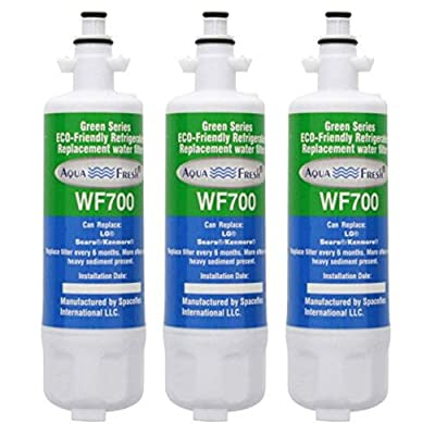 Replacement Water Filter for LG LFXS29766S, 3 pack (Please see descriptions for Compatibility)