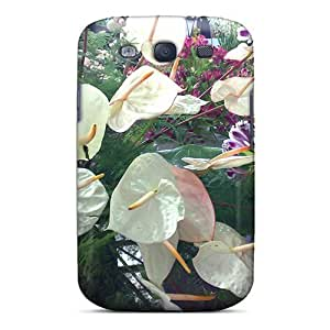 Top Quality Protection I Like White Flowers Case Cover For Galaxy S3