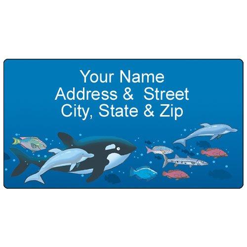 Fish Address Labels - 4