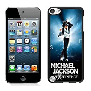 Unique And Durable Designed Case With Michael Jackson The Experience Black For iPod Touch 5 Phone Case