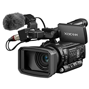 "Sony PMW100 One 1/2.9"" Exmor CMOS XDCAM HD422 Handy Camcorder, 3.5"" LCD Screen, 10x Zoom Lens, HD-SDI & HDMI Outputs (Discontinued by Manufacturer)"