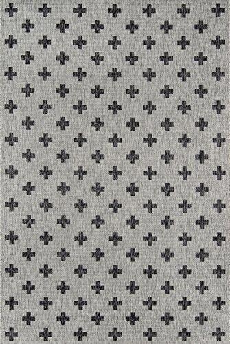 Momeni Abstract Rug (Novogratz Villa Collection Umbria Indoor/Outdoor Area Rug, 3'3