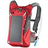ECEEN Hydration Solar Charger Bag Pack With 1.8L Bladder Bag And 7 Watts