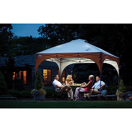 Coleman Instant Pop-Up Canopy Tent and Sun Shelter with LED Lighting, 10 x 10 Feet by Coleman (Image #7)