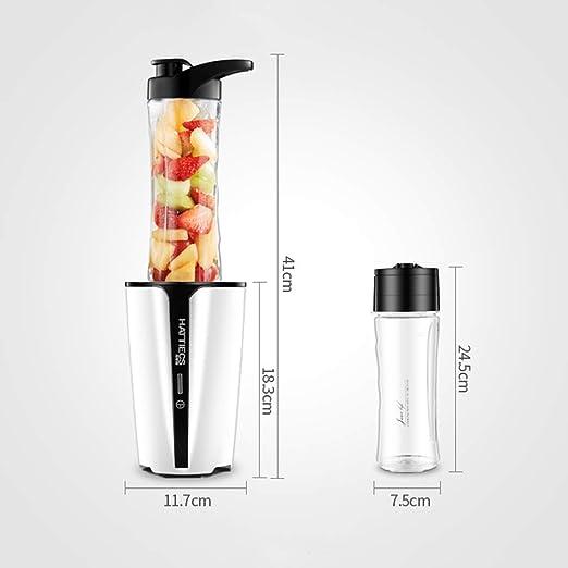 WLG Exprimidor portátil, Exprimidor multifuncional, Mini vaso para ...