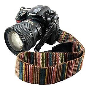 Eorefo Camera Strap Vintage Universal Shoulder Neck Belt Strap for All DSLR Camera Nikon Canon Sony Olympus Samsung Pentax Fujifilm.