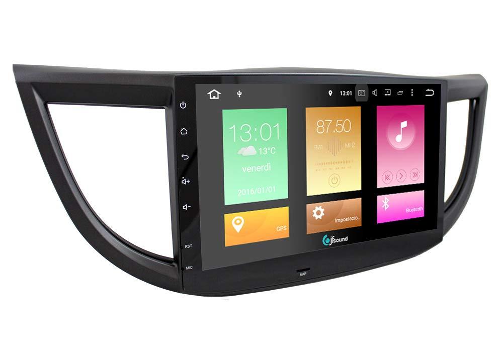 Radio de Coche Custom Fit Honda CR-V Android GPS Bluetooth USB SD ...