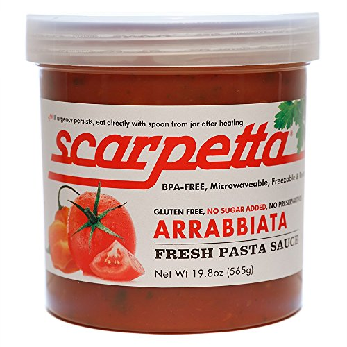 Scarpetta Arrabbiata Sauce, 19.8-Ounce Jar (Pack of 4)