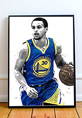 competitive price cf4d7 7a213 Stephen Curry Limited Poster Artwork - Professional Wall Art Merchandise  (More Sizes Available) (20x24)