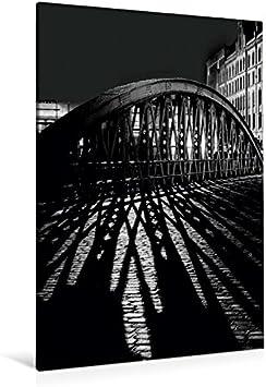Premium Textil-Leinwand 80 cm x 120 cm de altura, Hamburgo, Speicherstadt š Wandbild, imagen en Keilrahmen, Fertigbild en verdadera lienzo, Leinwanddruck (CALVENDO Orte);CALVENDO lugares