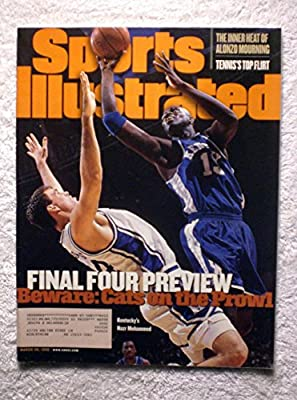 Nazr Mohammed - Kentucky Wildcats - Final Four Preview - Sports Illustrated - March 30, 1998 - College Basketball - SI