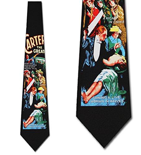 Magic Tie - Magic ties Magician Neckties Carter The Great Tie Mens Neck tie