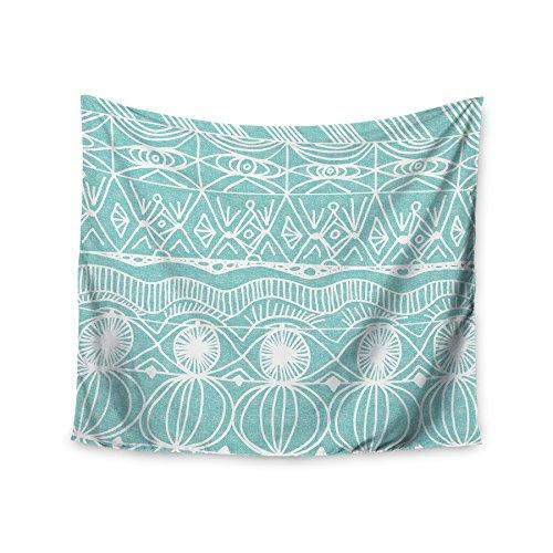 KESS InHouse Catherine Holcombe ''Beach Blanket Bingo'' Wall Tapestry, 68'' x 80'' by Kess InHouse