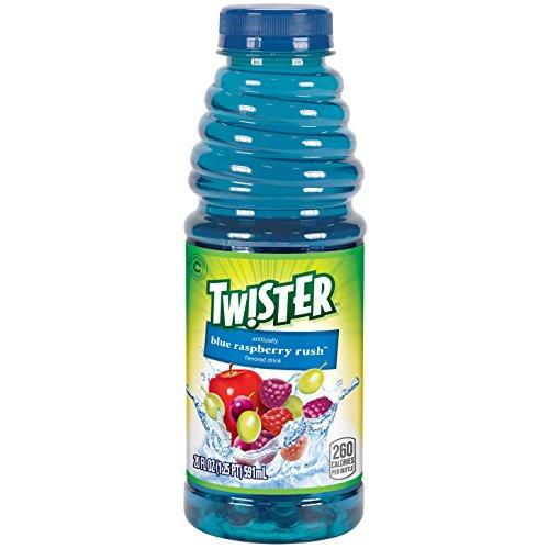 Tropicana Twister Drink, 20 Ounce, 12 - Raspberry Juice