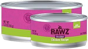 Rawz Shredded Meat Canned Cat Food (Chicken)