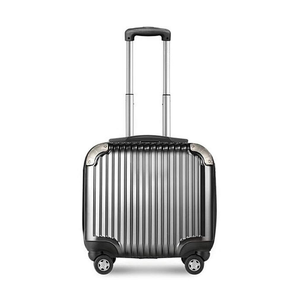 Yalztc-zyq16 拡張可能な荷物、キャリー付きトラベルバッグトロリースーツケース、旅行用の軽量で丈夫な荷物 (色 : B, サイズ さいず : 16in) 16in B B07QPZ76MY