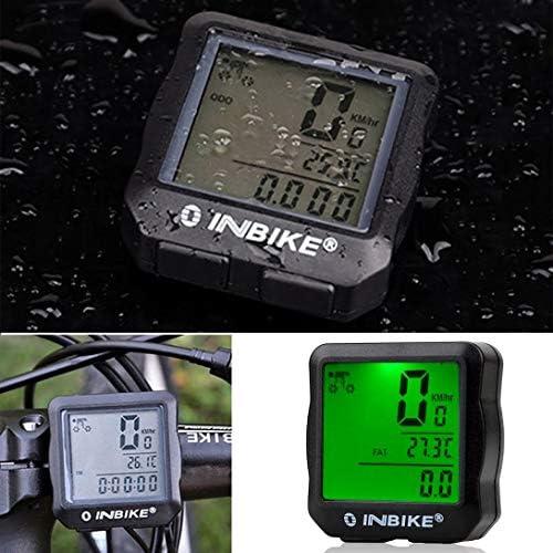 Swiftswan Fahrradcomputer-Geschwindigkeitsmesser-drahtloses wasserdichtes Fahrrad mit digitaler LCD-Anzeige Kilometerzähler-Mountainbike-Geschwindigkeits-Spurhaltung