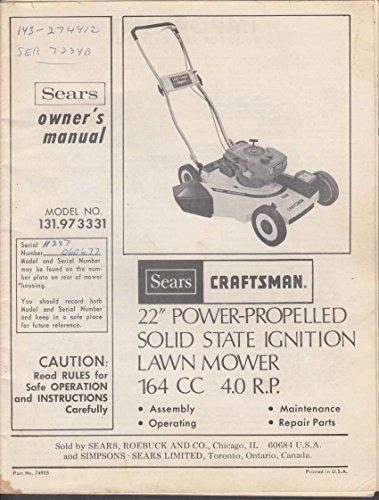 Sears Craftsman 22