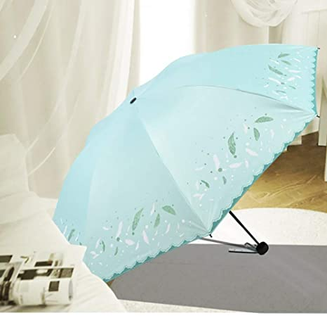 Small Travel UV Sun /& Rain Umbrella UV Protection Screen Shade Compact Folding