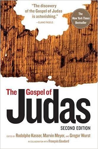 The Gospel Of Judas, Second Edition: Rodolphe Kasser, Marvin Meyer, Gregor  Wurst, Francois Gaudard: 9781426200489: Amazon.com: Books