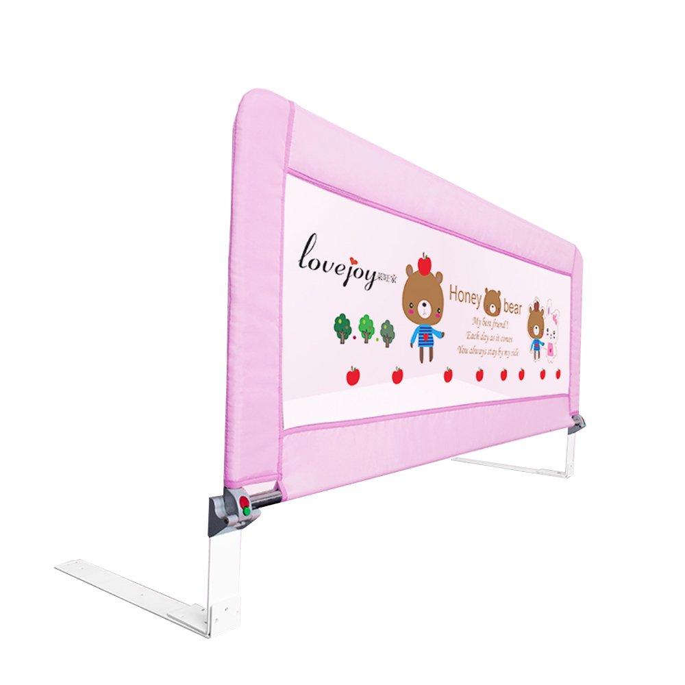 人気カラーの XIAOLIN ベビーベッドガードレールベッドフェンスベッドサイドバッフルテレスコピック折りたたみ (色 さいず : Pink, サイズ Pink さいず : XIAOLIN 150cm) 150cm Pink B07FKHCYKY, アニモスタイル(DOG&CAT):c76c0e1b --- a0267596.xsph.ru