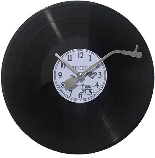 WYJW Imita un Disco de Vinilo Musical La manecilla de los Minutos ...