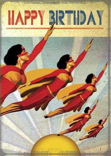 Tarjeta de felicitación Superheroes Feliz cumpleaños de Max ...