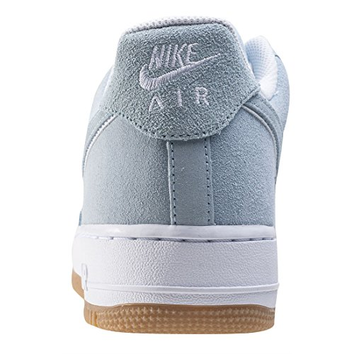 Nike Herren Air Force 1 '07 LV8 Mode Schuhe Licht Armoury Blau / Weiß / Schwarz Lt Armoury Blau / Lt Armoury Blau / Weiß / Gummi Lt Brown