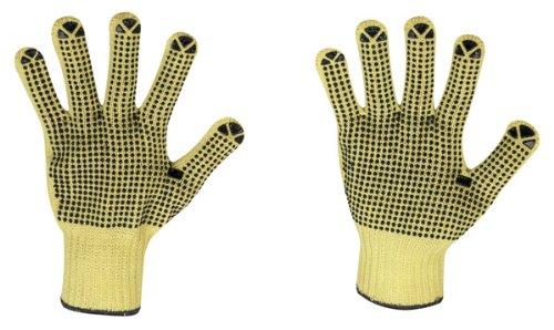12 Paar Schnittschutz/Hitzeschutz-Handschuhe Aramid-Handschuhe - stronghand®