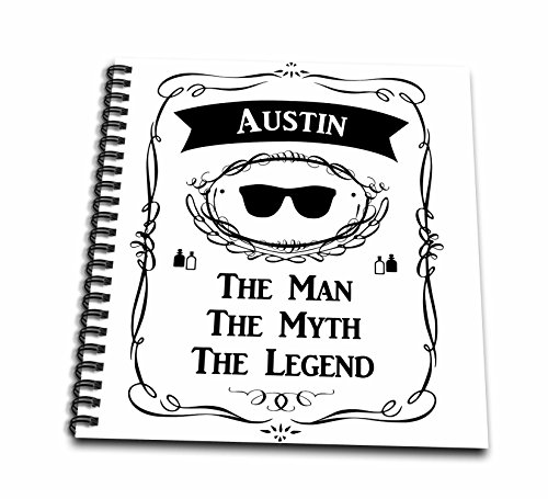 InspirationzStore The Man The Myth The Legend - Austin - The Man The Myth The Legend - personal name personalized gift - Memory Book 12 x 12 inch (db_232235_2)