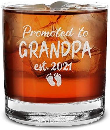 Vaso de whisky de alta calidad. Diseñado y grabado internamente para un acabado de la más alta calid