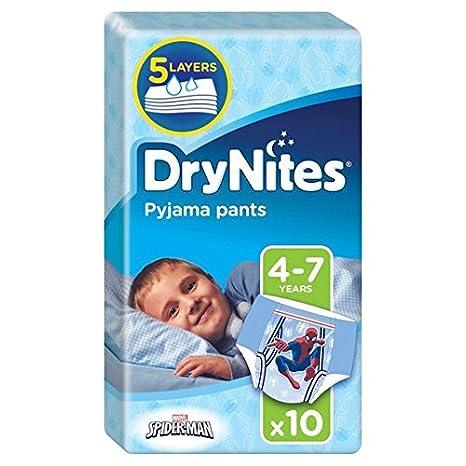 Huggies 4-7 años DryNites Para Niños 10 por paquete