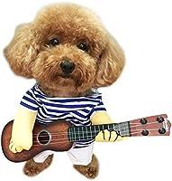 DELIFUR Disfraz de Guitarra para Mascotas, Disfraces para Perro ...