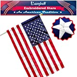 Best American Flag 3x5 Outdoors - RamboN US American Flag 3x5 ft. - UV Review