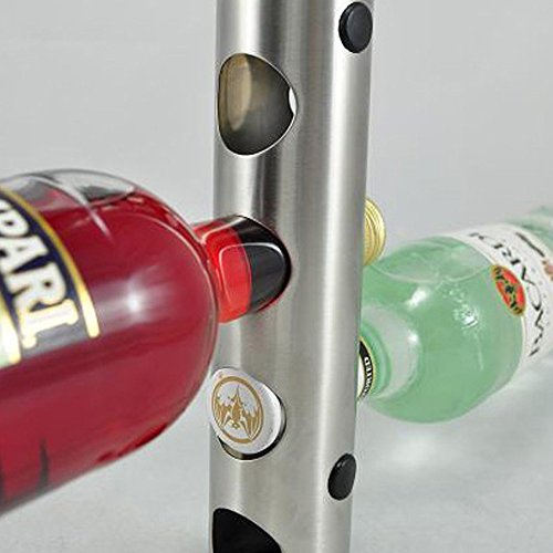 8 holes home bar wall grape wine bottle display stand rack suspension storage organizer. Black Bedroom Furniture Sets. Home Design Ideas