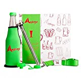 ANPOZE 5 Piece Cool Beer Accessories Kit with Stainless Steel...
