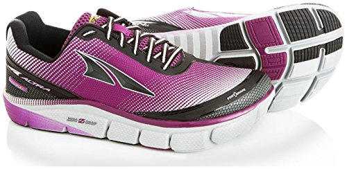 Altra Women's Torin 2.5 Trail Runner, Purple/Gray, 8 M US by Altra