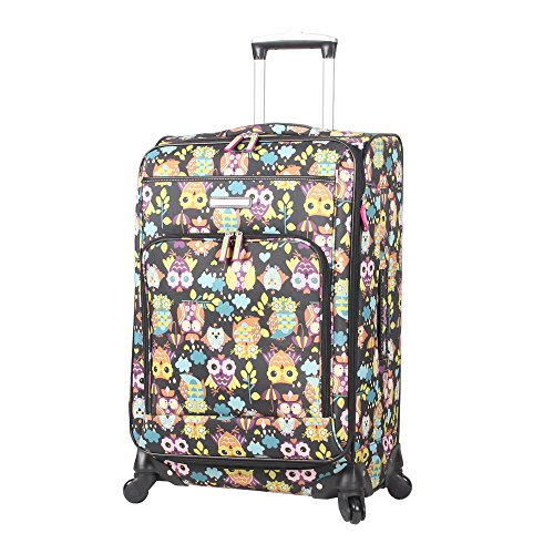 lily-bloom-midsize-24-expandable-design-pattern-luggage-with-spinner-wheels-24in-what-a-hoot