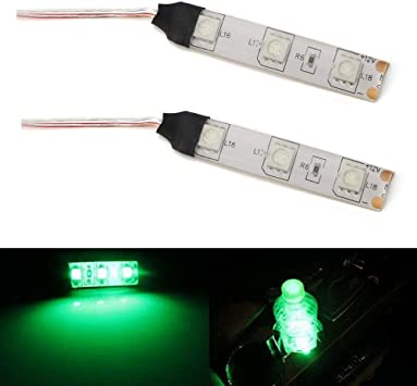 15 x Ultra Green Interior LED Lights Package For 2006-2012 Ford Fusion TOOL
