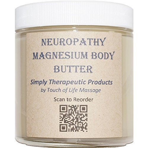 Neuropathy Magnesium Body Butter, All-Natural Product (Body Butter Touch)