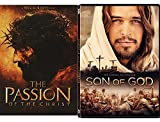 His Kingdom Collection - Son of God Jesus Film & Passion of the Christ 2-DVD Bundle